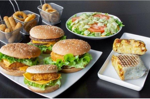 Restaurant proposant un menu étudiant pour burger et tacos Valence